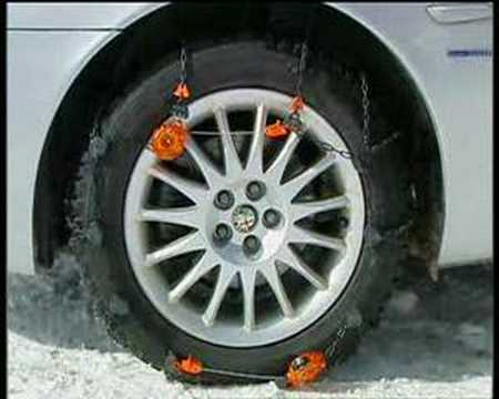 Weissenfels Clack&Go Pro-tech snow chains