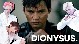 what happens when you put BTS's Dionysus over fight scenes