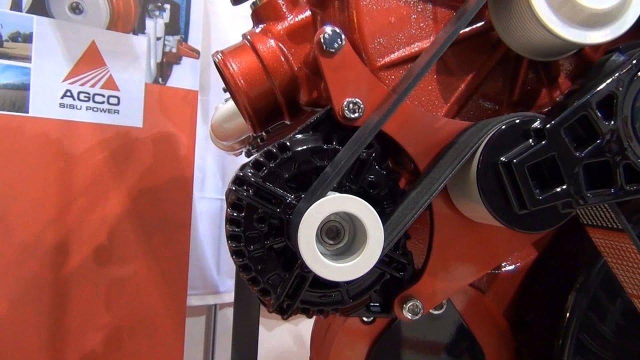 V 12 The Tractor Engine 700 Hp Agco Sisu Power Youtube