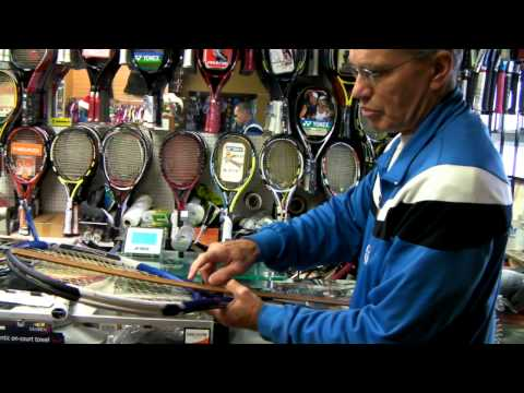 Matching and Modifying a tennis racket Part 3