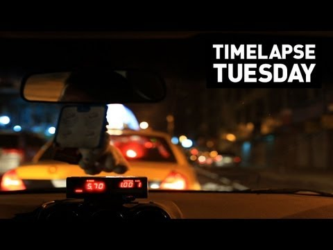 Timelapse Tuesday: Chris Ray's Taxi Ride