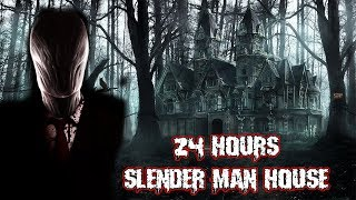 WE FOUND SLENDERMANS HOUSE IN THE FOREST & THIS HAPPENED | OVERNIGHT CHALLENGE AT SLENDERMANS HOUSE