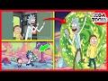 10 [NUEVAS] Curiosidades Sobre Rick y Morty - JEGA Toons 😀👆😍