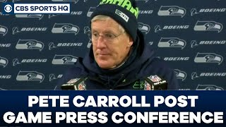 Pete Carroll Post Game Press Conference: NFC Divisional Round | CBS Sports HQ