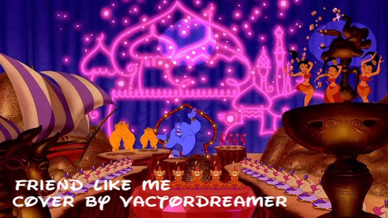 Aladdin Friend Like Me Cover YouTube