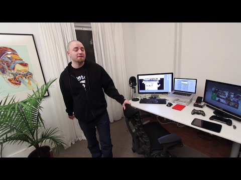 Ultimate Tech Office Tour / Gaming Setup / Desk Setup 2013