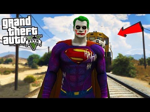 THE JOKER SUPERMAN - GTA 5 Mods
