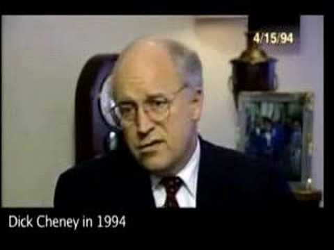 Cheney in 1994 on Iraq