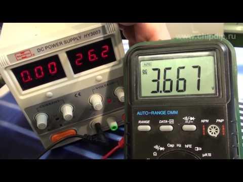 Микроконтроллеры ATMEL - AT89C2051-24PU. Простой преобразователь напряжени