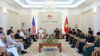 Tin buồn cho Trung Quốc: Tư lệnh Mỹ muốn giúp Việt Nam H Ạ Trung Quốc ở biển Đông.