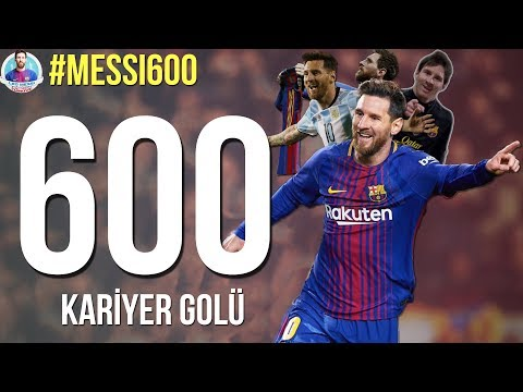 LIONEL MESSI - ALL 600 GOALS IN HIS CAREER | With Commentary | 2005-2018 • HD