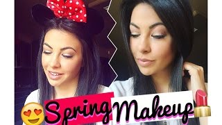 Ежедневен пролетен грим ♡  Chit Chat GRWM | Spring Makeup Look | Април 2016