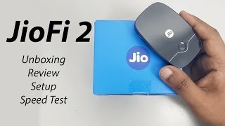 JioFi 2 Reliance Jio 4G WiFi Router & Hotspot Unboxing | Review | Setup | Speed Test