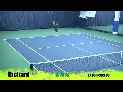 Prince exo3 rebel 98 racquet review by tennis express