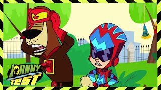 Johnny Test | Super Johnny Action Federation/Gil-stopping Johnny