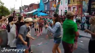 Kensington Market Pedestrian Sunday: Maypole Dance