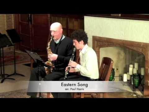 Tango and Eastern Song, alto sax and clarinet duets