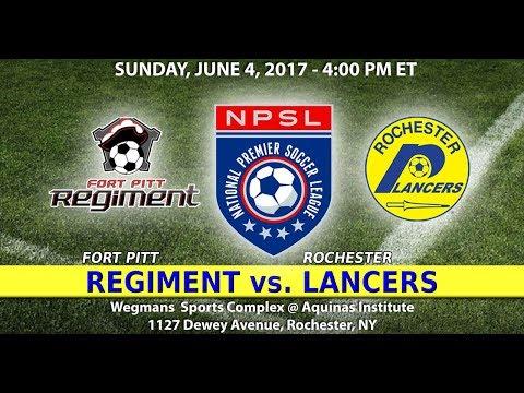 NPSL Soccer: Fort Pitt Regiment vs. Rochester Lancers