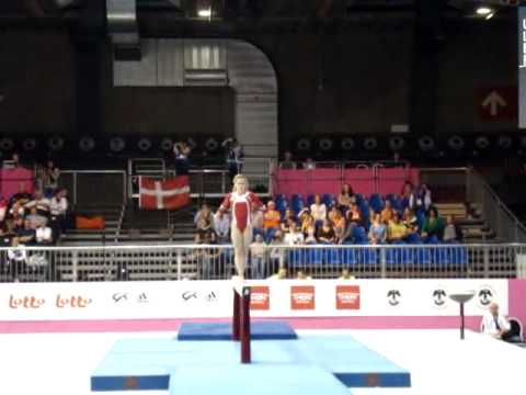 Giulia STEINGRUBER SUI, Beam Senior Qualification, European Gymnastics Championships 2012
