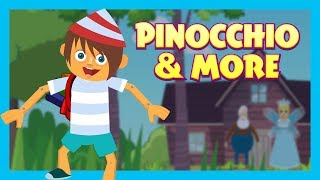 Pinocchio & More - KIDS STORIES || Kids Hut Storytelling - Animated Stories For Kids