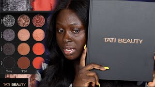 TATI BEAUTY FIRST PALETTE (VOL. 1)......LET'S SEE HOW THIS GOES!! | OHEMAA BONSU