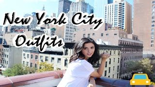 MY NEW YORK CITY OUTFITS LOOKBOOK