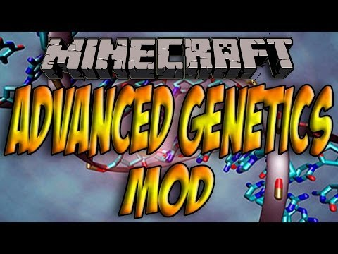 Minecraft 1.7.2 - Como Instalar ADVANCED GENETICS MOD - ESPAÑOL [HD] 1080p