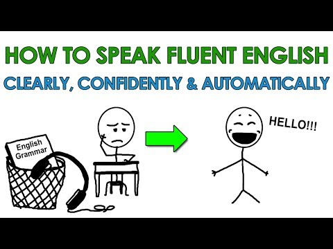 How to Speak Fluent English Clearly, Confidently and Automatically… Finally!!!