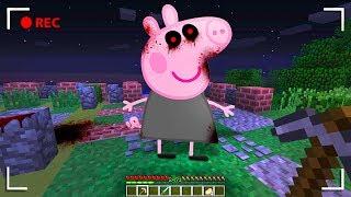 ¡NUNCA INVOQUES A PEPPA PIG .EXE A LAS 3 DE LA MAÑANA EN MINECRAFT!