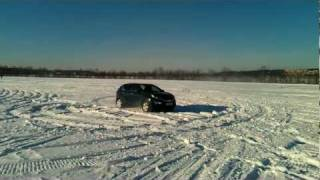 Kia Sportage winter drift