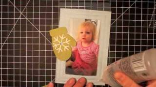 12 Days Of Christmas Ornaments Day 2 - Felt Photo Frame