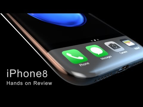 iPhone 8 Leaked Design & Hands on Review