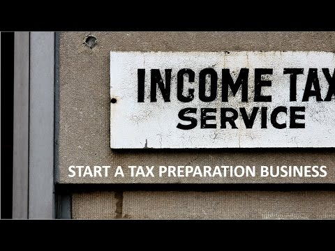 Canadian Personal Tax Returns - Starting your own tax preparation business