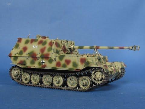 """Немецкий истребитель танков Sd.Kfz. 184 """"Elefant"""""""
