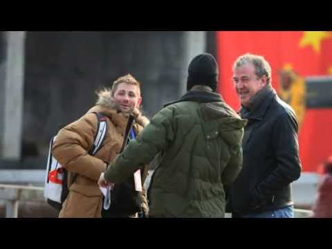 Jeremy Clarkson jokes about suspension