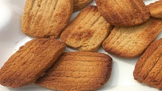 Atta Biscuit Recipe Without Oven   Eggless Atta Biscuit   आटा बिस्कुट  खस्ता  कुरकुरे