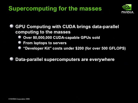 Introduction to GPU Computing