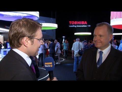 Toshiba FlashAir: Fotos von der Digitalkamera drahtlos übertragen - IFA 2013 Interview