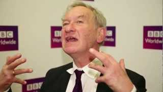 Simon Schama talks to BBC Worldwide Showcase 2013