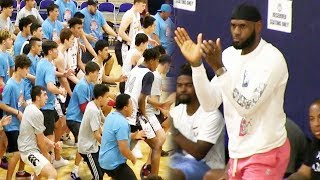 LeBron James MOTIVATES His Strive For Greatness Squad! Dior Johnson Is UNSTOPPABLE