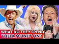 Lagu Top 10 richest Country Stars: what to spend money on? | ⭐OSSA