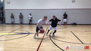Professor Almost LOSES vs Good Shooter... Goes half speed... 90% Fundamental Moves