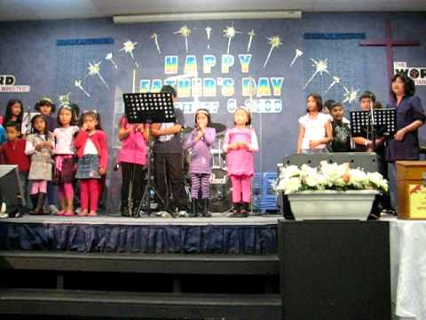 TWCM Sunday School Presentation on Father's Day, Sep 2009
