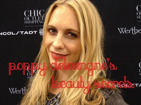 Poppy Delevingne's Beauty Secrets