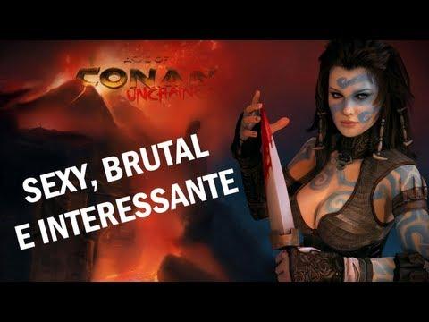 SEXY, BRUTAL E INTERESSANTE // AGE OF CONAN MMORPG