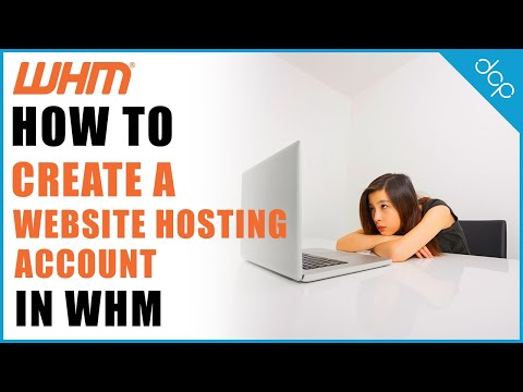 Create A New Hosting Account Using WHM 11 Web Host Manager Tutorial - DCP Web Designers Tutorial
