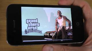 iPhone 4 iOS 7.1 Final - GTA San Andreas HD Gameplay Test