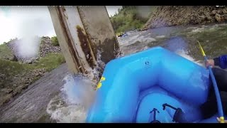 GoPro footage of Clear Creek River Rafting Accident on 6-7-14