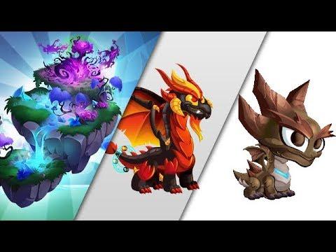 Dragon City Shadow Island Episode 2 Got Apocalypse Dragon   Quake Dragon Level Up And Egg Revew