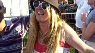 80s FESTIVAL, POWDERHAM, TOPSHAM,25 JULY 2009.CLARE GROGAN, HAPPY BIRTHDAY